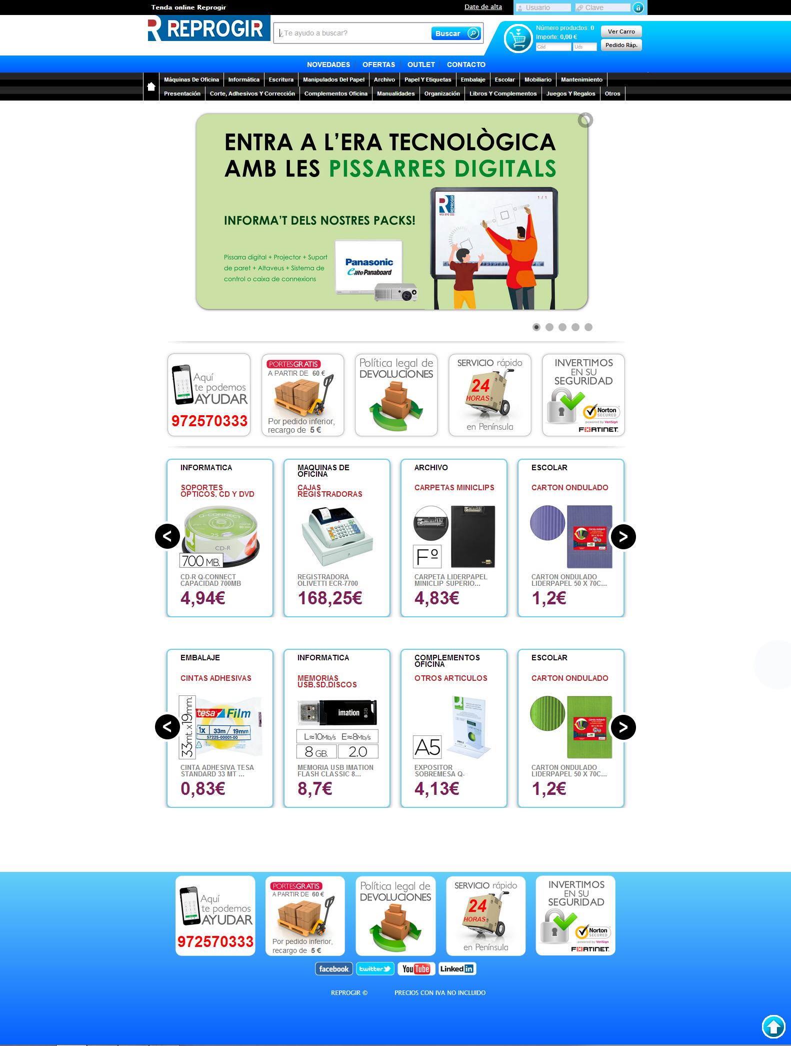 botiga on-line-liderpapel